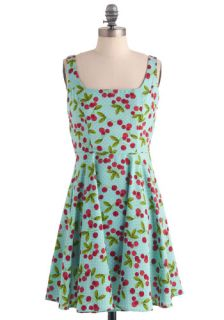 Very Berry Charming Dress in Cherries  Mod Retro Vintage Dresses