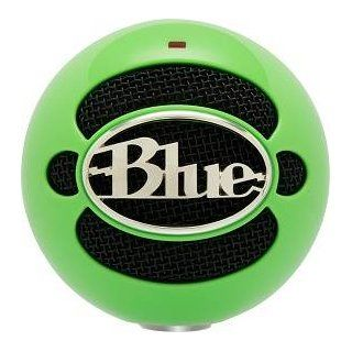 Blue Microphones Snowball USB Microphone (Neon Green) Musical Instruments