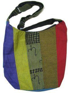 Handmade Bohemian Gypsy Vintage Cotton Shoulder Crossbody Bag   Multi Color as seen