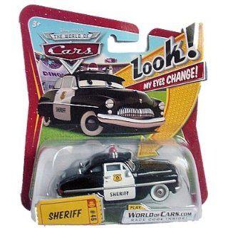Disney Pixar Cars 1 Sheriff   Look my Eyes Serie 2010: Spielzeug