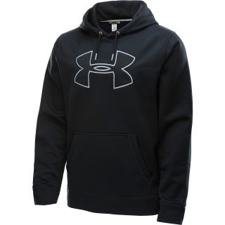 UNDER ARMOUR Mens Armour Fleece Storm Big Logo Hoodie   Size: Medium,