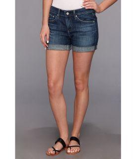 AG Adriano Goldschmied The Hailey Ex Boyfriend Roll Up Short in 10 Years Santa Ana Womens Shorts (Blue)