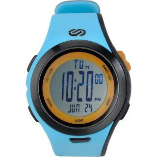 SOLEUS Mens Ultra Sole Running Watch   Size L, Teal/orange