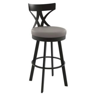 Barstool: Amisco Washington Barstool   Brown