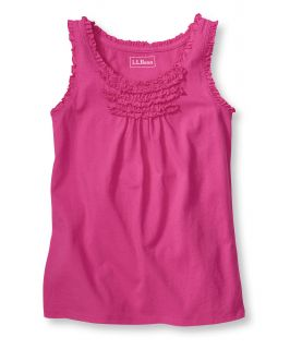 Girls Ruffle Edge Tank Girls