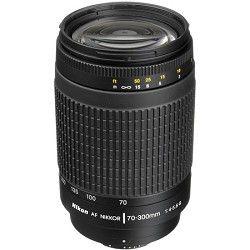Nikon 70 300mm F/4 5.6G AF Zoom Nikkor Lens, With Nikon 5 Year USA Warranty
