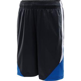 UNDER ARMOUR Boys Trilogy Shorts   Size: L, Black/steel