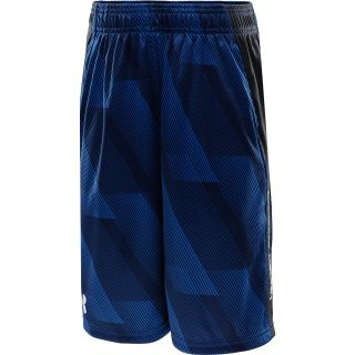 UNDER ARMOUR Boys UA Tech Shorts   Size: XS/Extra Small, Scatter/anthracite