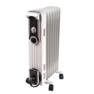 Comfort Glow 1500 Watt Electric Oil Filled Radiant Portable Heater EOF260