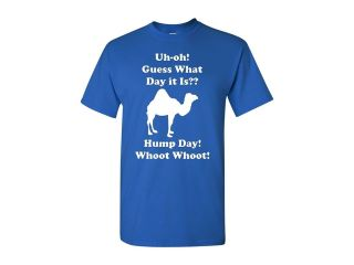 Hump Day! Camel Adult Funny T Shirt Tee