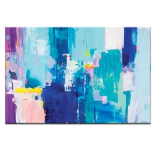 Into the Blue by Kirsten Jackson Painting Print on Canvas
