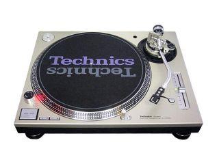 Panasonic Technics SL 1200MK5 Quartz Synthesizer Direct Drive Turntable Silver
