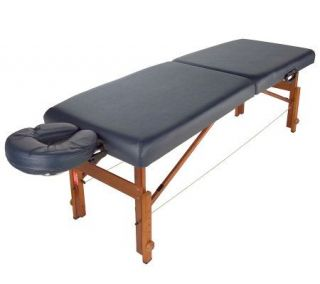 LifeGear Travel Lite Portable Massage Table with Video —