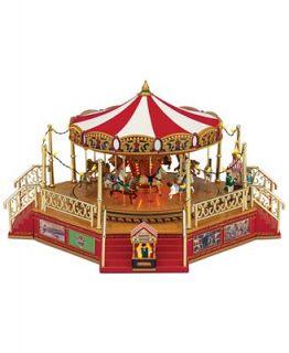 Mr. Christmas Worlds Fair Boardwalk Carousel Holiday