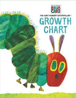 Eric Carle the Very Hungry Caterpillar Growth Chart (Notebook / blank