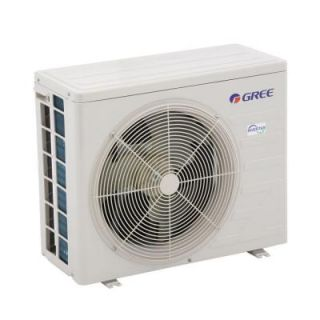 GREE High Efficiency 12,000 BTU 1 Ton Ductless Mini Split Air Conditioner with Heat, Inverter and Remote   208 230V/60Hz RIO12HP230V1B