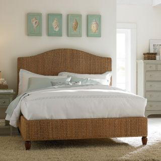 Ashby Park Banana Leaf Woven Low Profile Bed