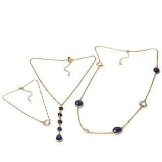 Daniela Swaebe Circle Layer Necklace Set of 3   8083964