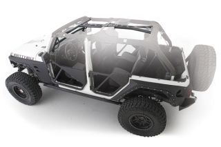 2007 2010 Jeep Wrangler Roll Cages & Accessories   Smittybilt 76902   Smittybilt SRC Roll Cage Kits