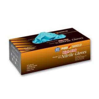West Chester High Risk Powder Free Nitrile Disposable Gloves, Medium   50 Ct. Box, sold by the case 2950/M