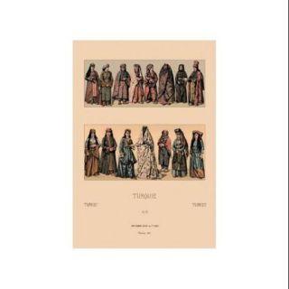 Traditional Turkish Women Print (Canvas Giclee 20x30)