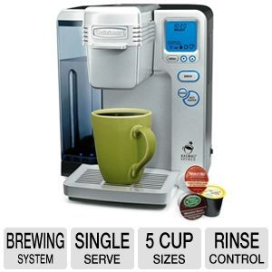 Cuisinart SS 700 Single Serve Brewing System   5 Cup Sizes, Fully Programmable, Charcoal Water Filter, Reusable Coffee Filter