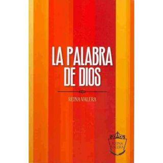 Santa Biblia: Reina Valera, orange stripes, la palabra de Dios