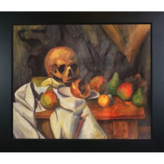 Paul Cezanne Nature Morte au Crane  Hand Painted Framed Canvas Art