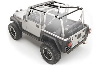 1997 2006 Jeep Wrangler Roll Cages & Accessories   Smittybilt 76900   Smittybilt SRC Roll Cage Kits