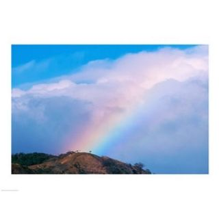 Rainbow at Monteverde Cloud Forest Reserve, Costa Rica Poster Print (24 x 18)