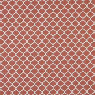 A0008C Persimmon Off White Modern Geometric Upholstery Fabric (By The