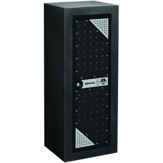 Stack On Products 16 Gun Tactical Security Cabinet, Black