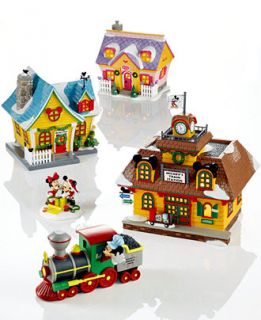 Department 56 Mickeys Christmas Village Collection