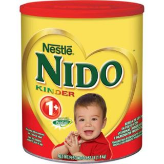 NESTLE NIDO Kinder 1+ Powdered Milk Beverage, 6   3.52 lb. Canisters