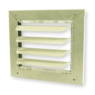DAYTON Louver Kit,Unit Mounted,7.5 to 15kW   Electric Unit Heater Accessories   2KMN9|2KMN9