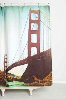Shannon Clark For DENY Golden Gate Shower Curtain