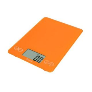 Escali Arti Glass Digital Food Scale in Overly Orange 157OO