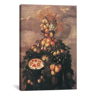 iCanvas 'Summer' by Giuseppe Arcimboldo Painting Print on Canvas