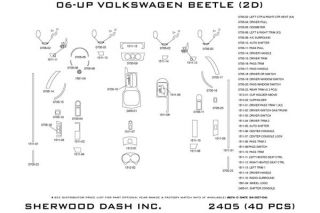2010 Volkswagen Beetle Wood Dash Kits   Sherwood Innovations 2405 BI   Sherwood Innovations Dash Kits