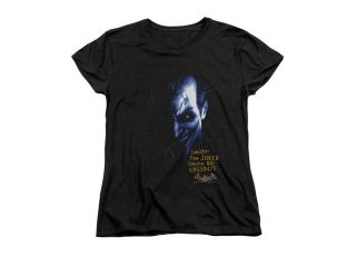 Batman Aa Arkham Joker Womens Short Sleeve Shirt