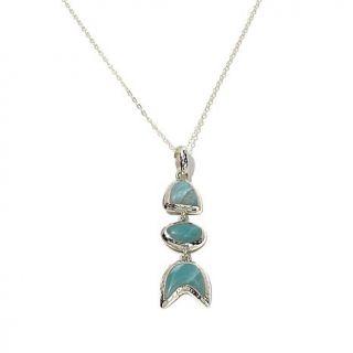 "Studio Barse ite Sterling Silver Pendant with 24"" Chain   7989467"