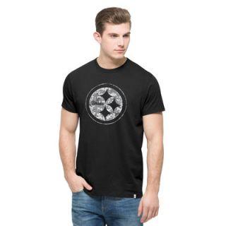 Pittsburgh Steelers 47 Crosstown Digi Camo Flanker T Shirt   Black