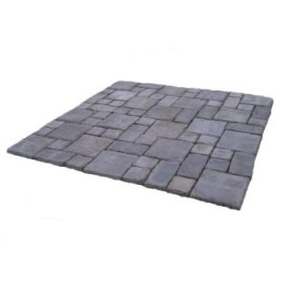 Cass Stone 100 sq. ft. Gray Concrete Paver Kit CASSG