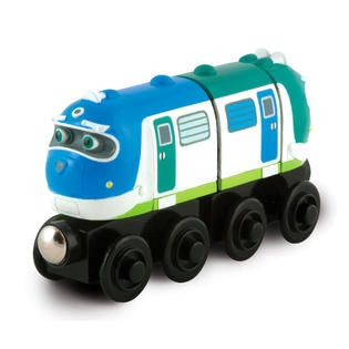 Tomy Chuggington Wooden Railway Hoot and Toot   Toys & Games   Trains