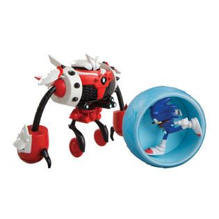 Tomy Sonic vs Burnbot Playset   Toys & Games   Action Figures