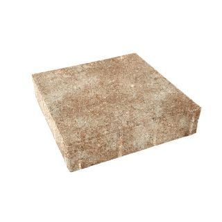 Amaretto Square Concrete Paver (Common: 10 in x 10 in; Actual: 9.8 in x 9.8 in)