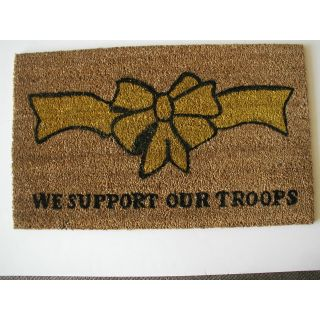 Geo Crafts, Inc Support Our Troops Doormat