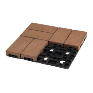 AZEK 4 in. x 8 in. Boardwalk Composite Resurfacing Paver Grid System (8 Pavers and 1 Grid) K048 002