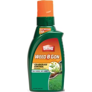 Ortho� 32 oz Weed B Gone Max Plus Crabgrass Control Concentrate (9992810)   Weed & Feed