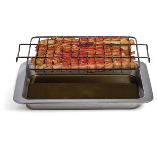 Mrs. Fields by Love Cooking Chef Tony Healthy Bacon Pan